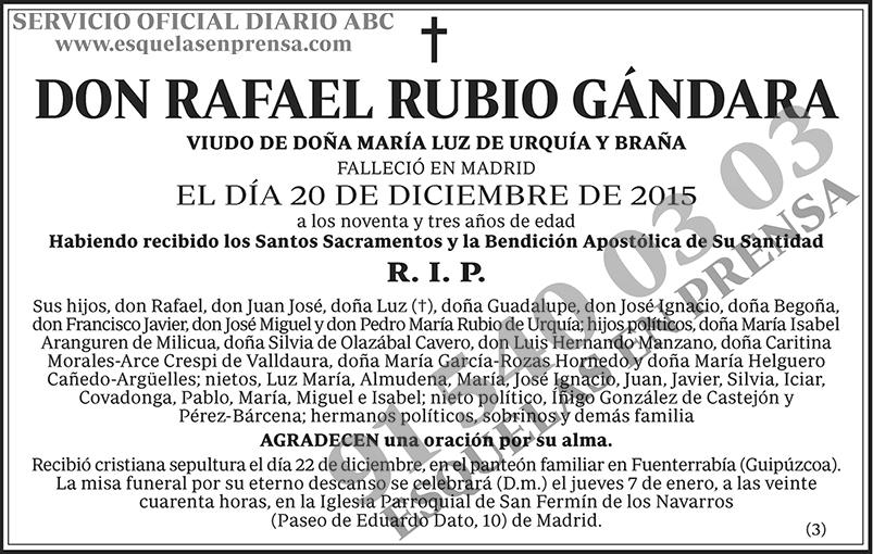 Rafael Rubio Gándara